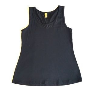 Lucy Athletic tank top Size M in black.